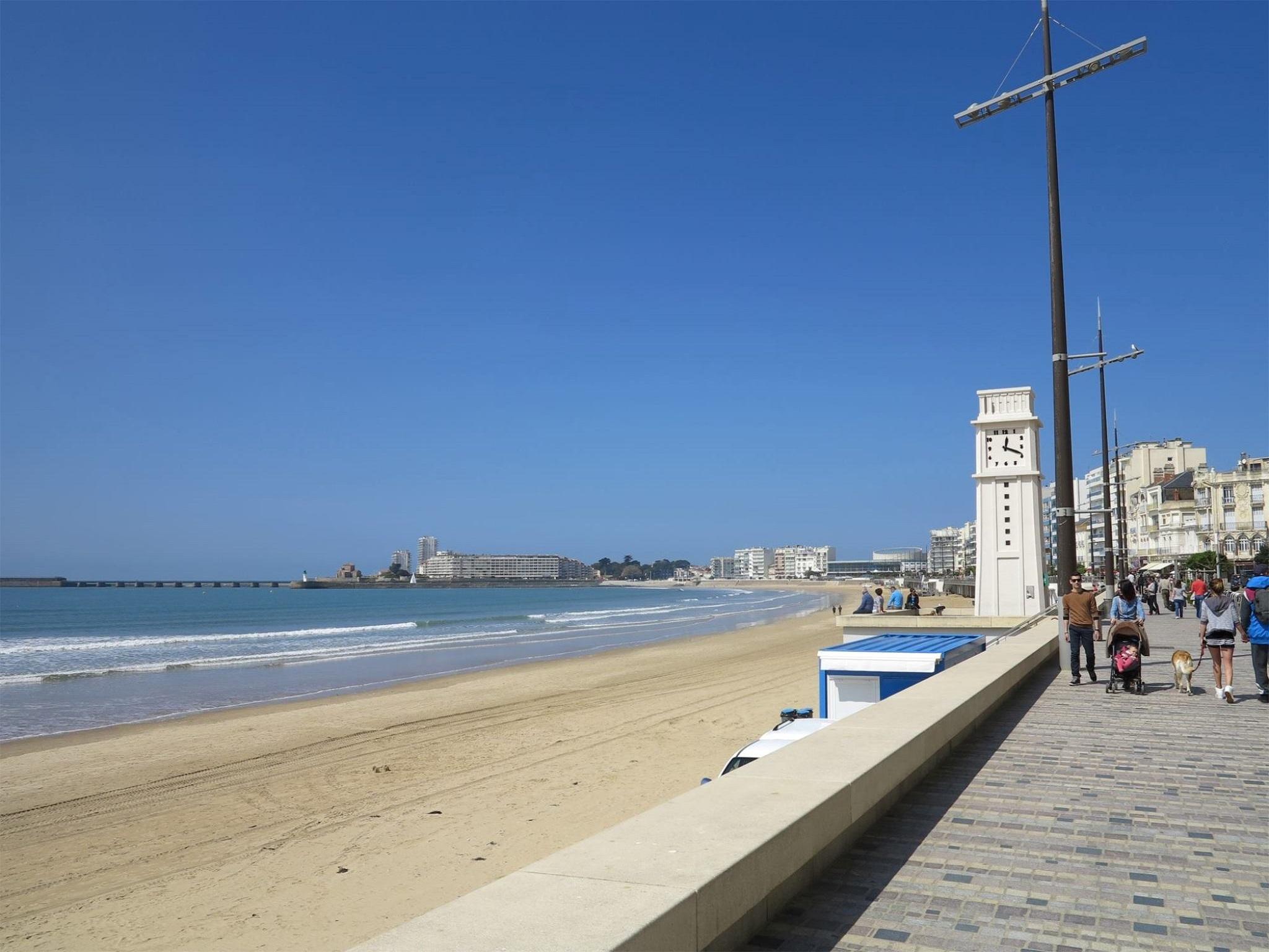 la plage des Sables d'Olonne